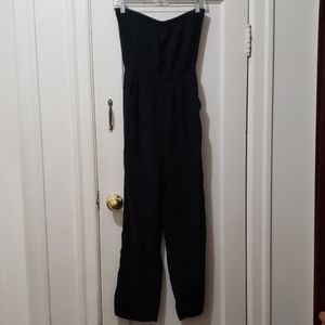 Forever 21 strapless jumpsuit with POCKETS!!